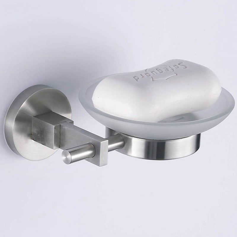 Soap Dish - Brushed Stainless Steel (30369)