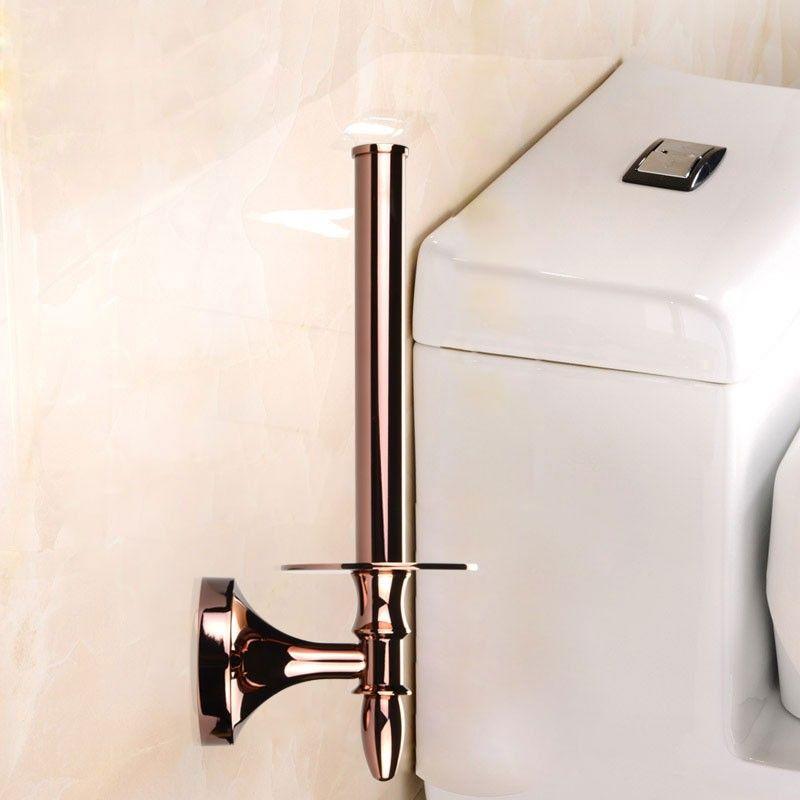 Toilet Paper Holder - Rose Gold Brass (90351E)