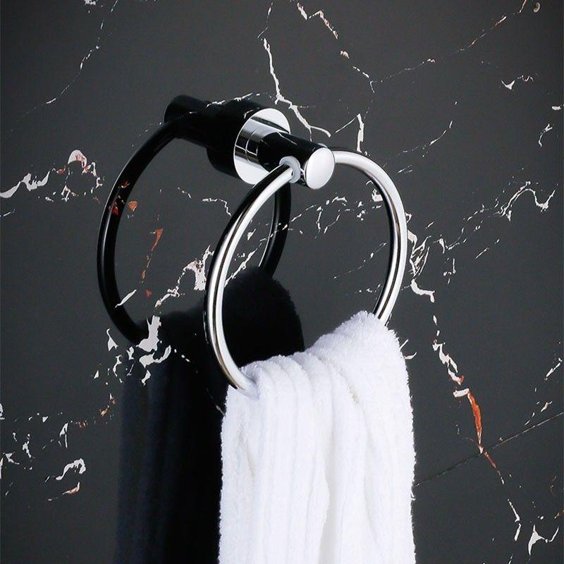 Towel Ring - Chrome Brass (80760)