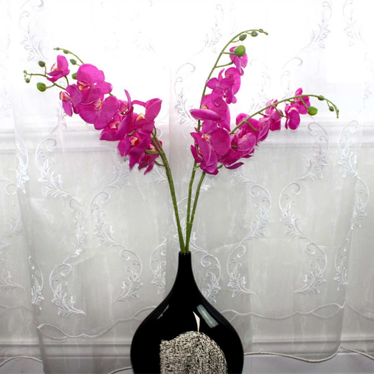 """Artificial Butterfly Orchid Flower/Piece - 39"""""""