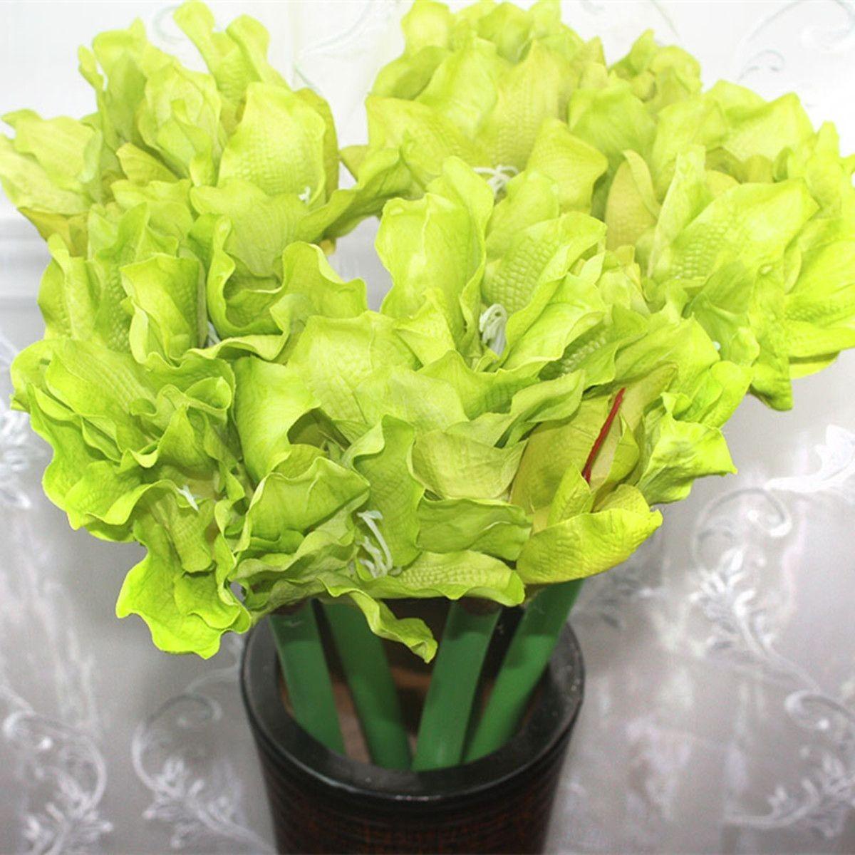 "Artificial Clivia Flower/Piece - 20"" - Green"