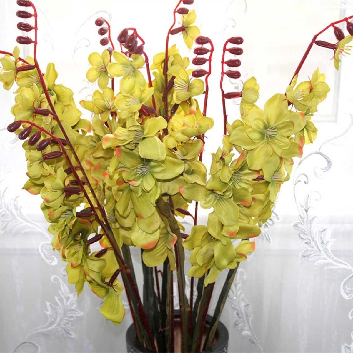 "Artificial Freesia Flower/2 Heads/Piece - 41"""