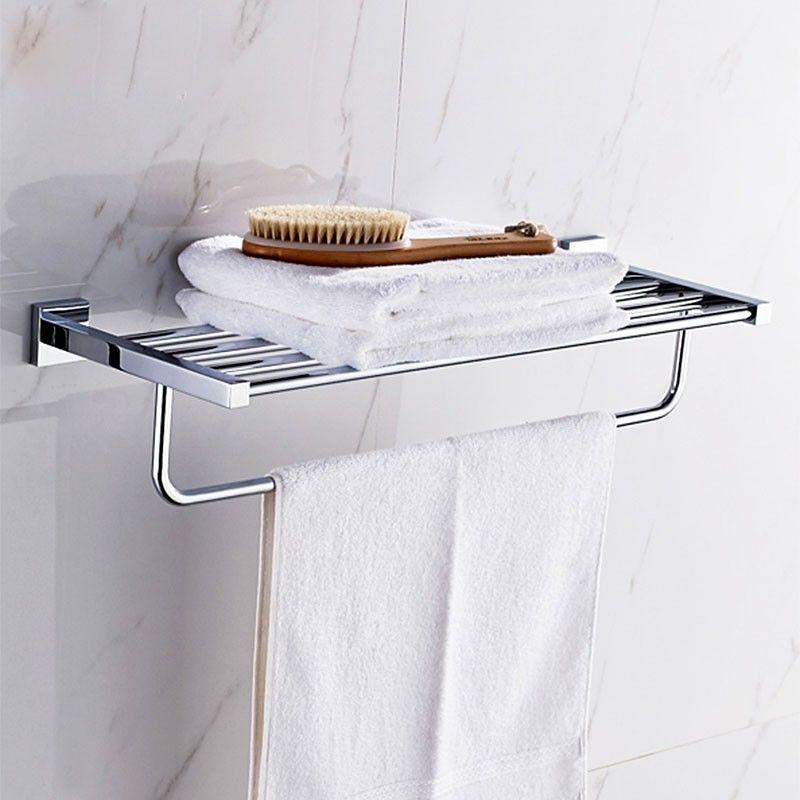 Towel Shelf 24 Inch - Chrome Brass (80800)
