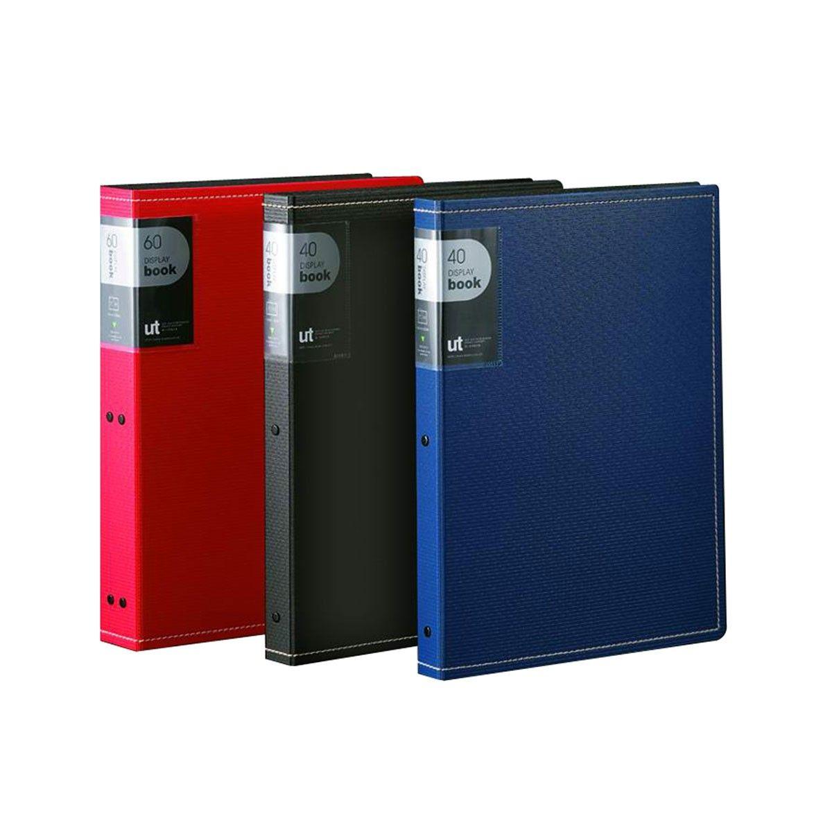 Three-layered Foamed PP Display Book, 20 Pockets (DK-DB-20U)