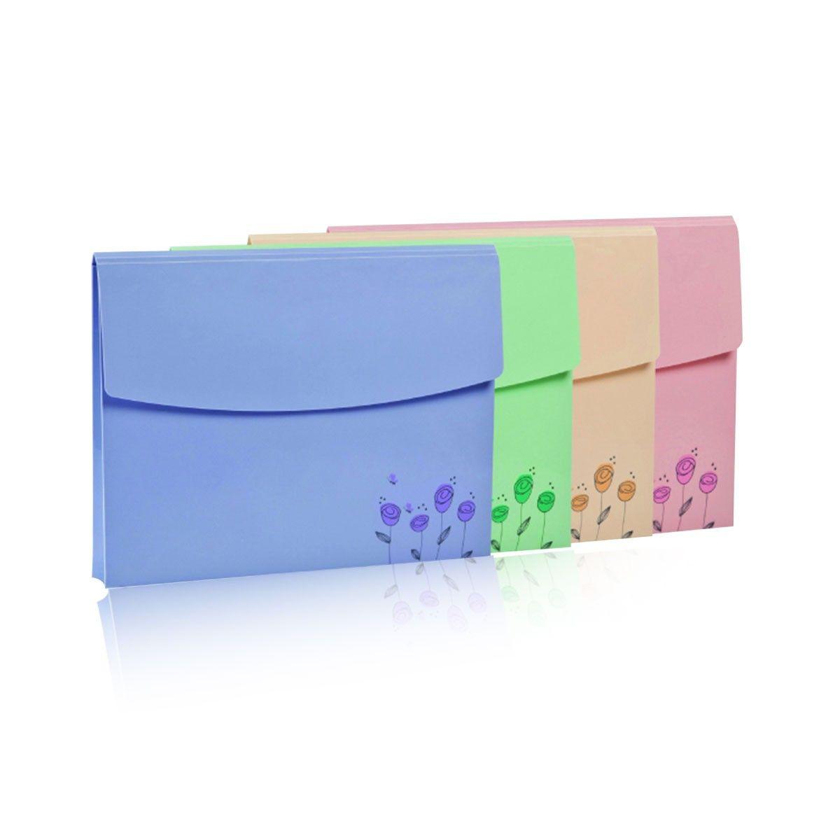 File Pocket, Large Capacity, 4/pack (DK-PFB-01FB)