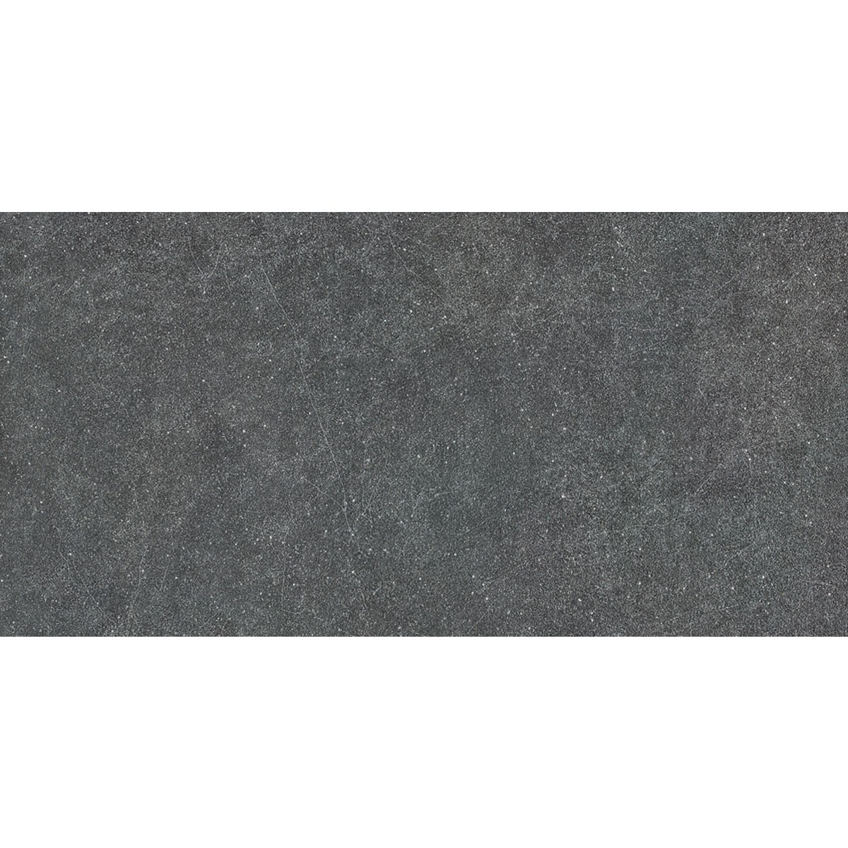 24 x 12 In. Black Porcelain Floor Tile - 8 Pcs/Case (15.50 sq.ft/Case) (BS60E)