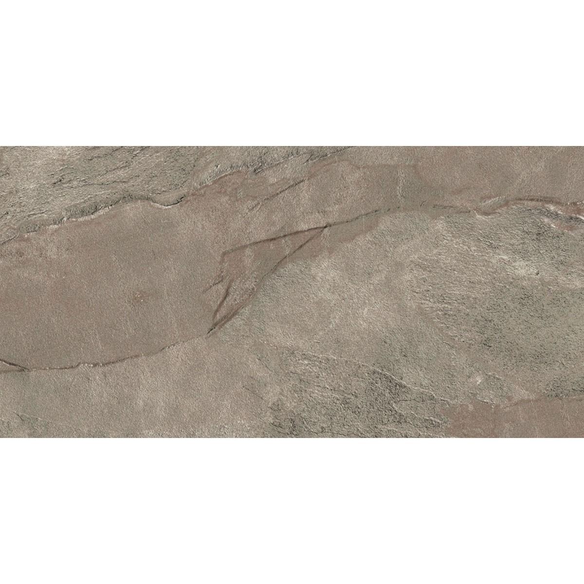 24 x 12 In. Gray Porcelain Floor Tile - 8 Pcs/Case (15.50 sq.ft/Case) (MO60D)