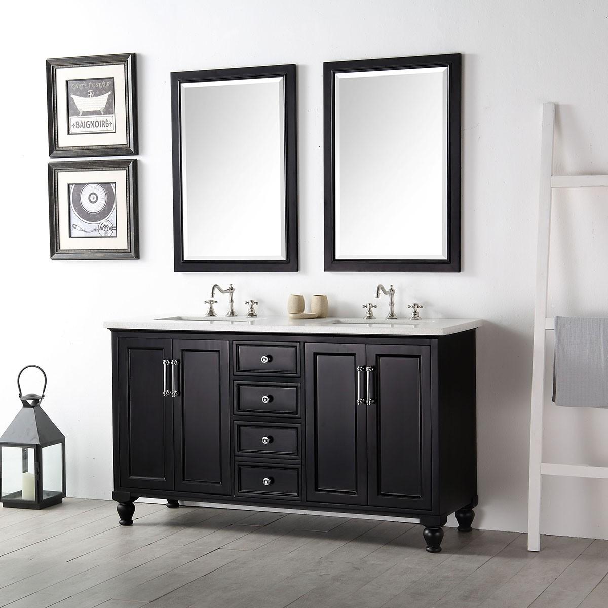 60 In. Bathroom Vanity Set (DK-6560-E-SET)