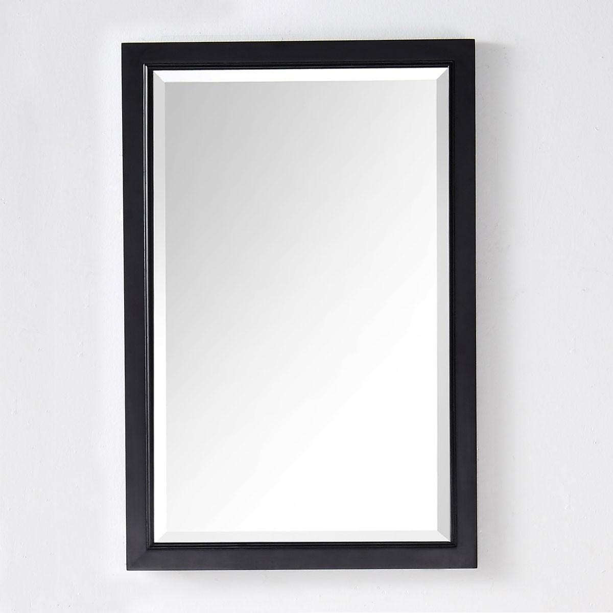 24 x 36 In Mirror with Espresso Frame (DK-6000-EM)
