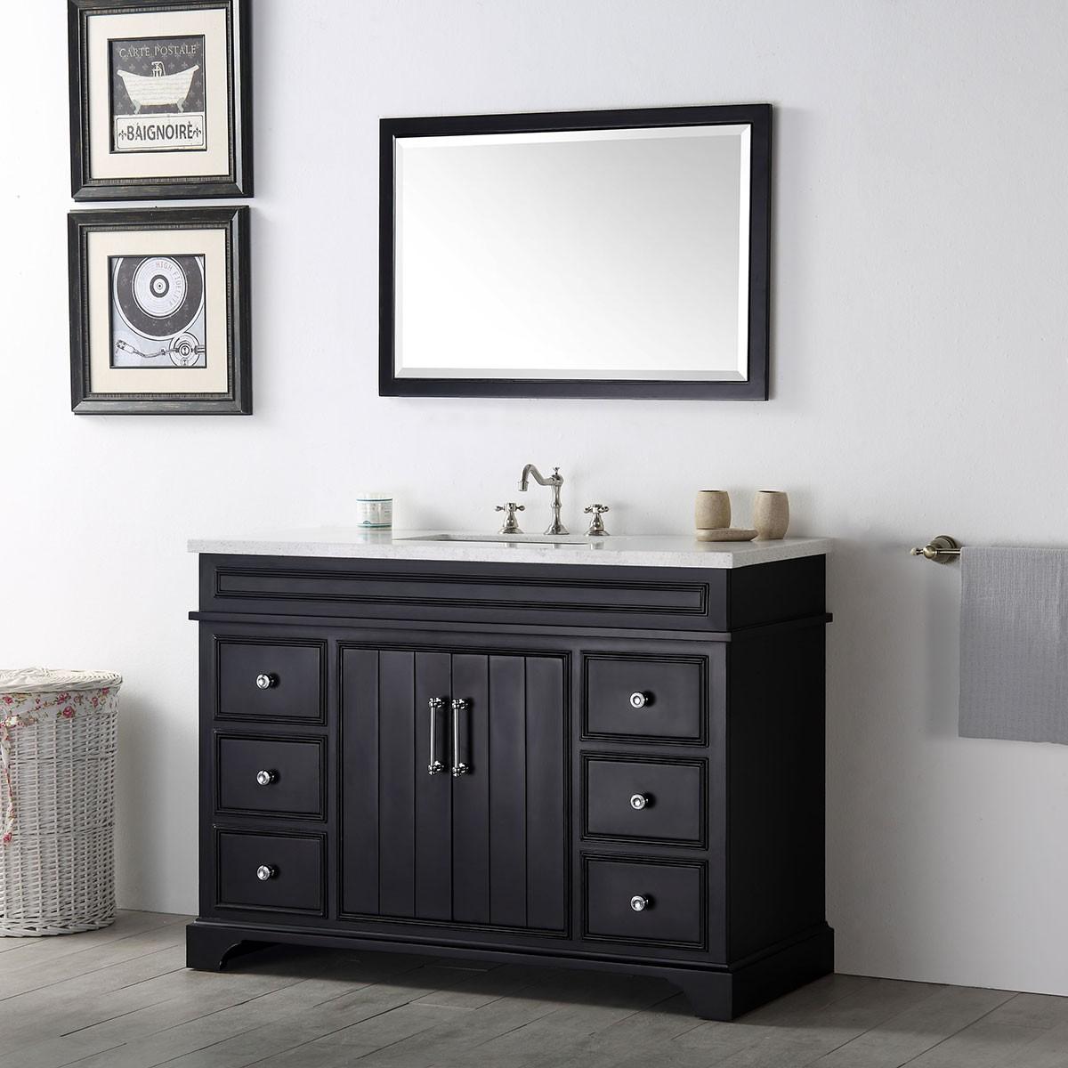 48 in bathroom vanity set without mirror dk 6748 e