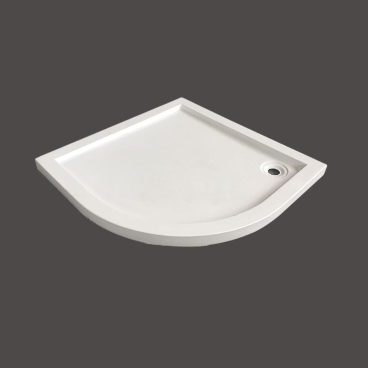 35 x 35 ln White Shower Base (DK-T112)