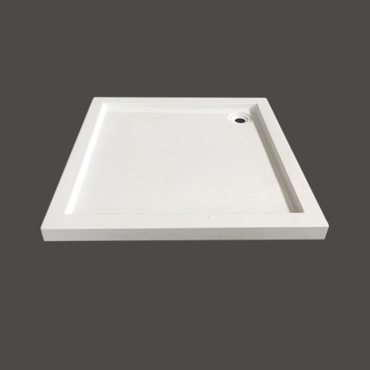 35 x 35 ln White Shower Base (DK-T212)