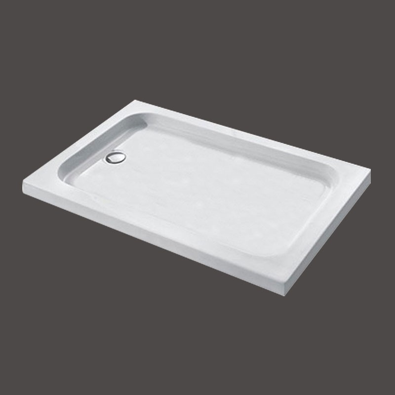 31.5 x 46.5 ln White Shower Base (DK-T312)