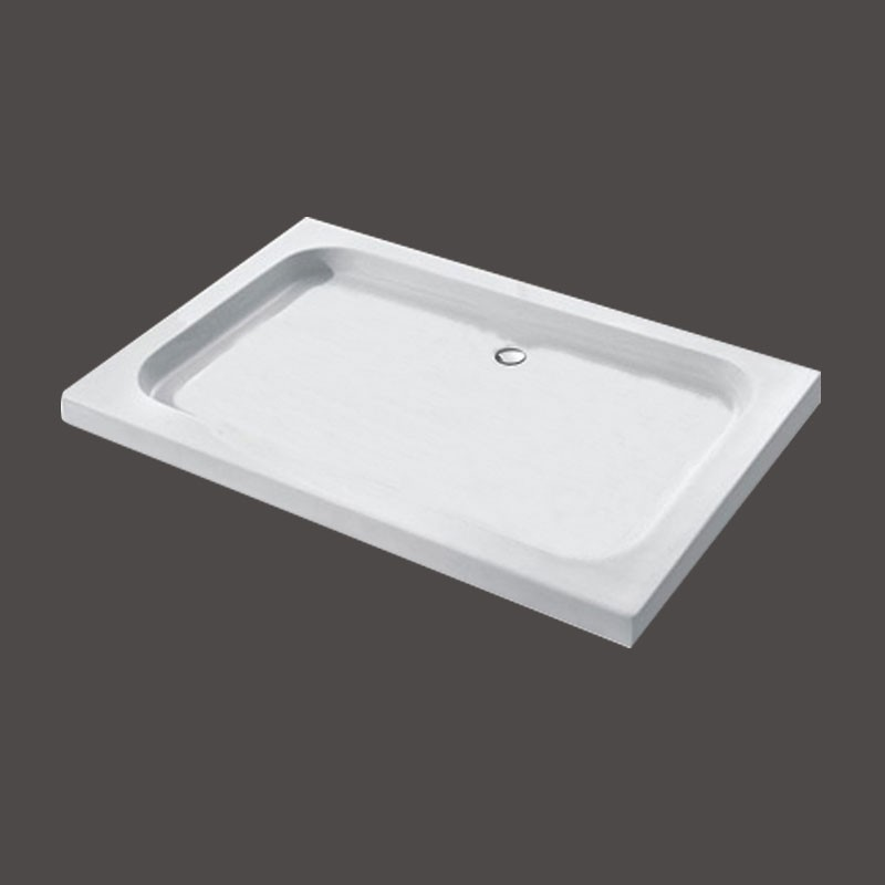 35 x 46.5 ln White Shower Base (DK-T313)