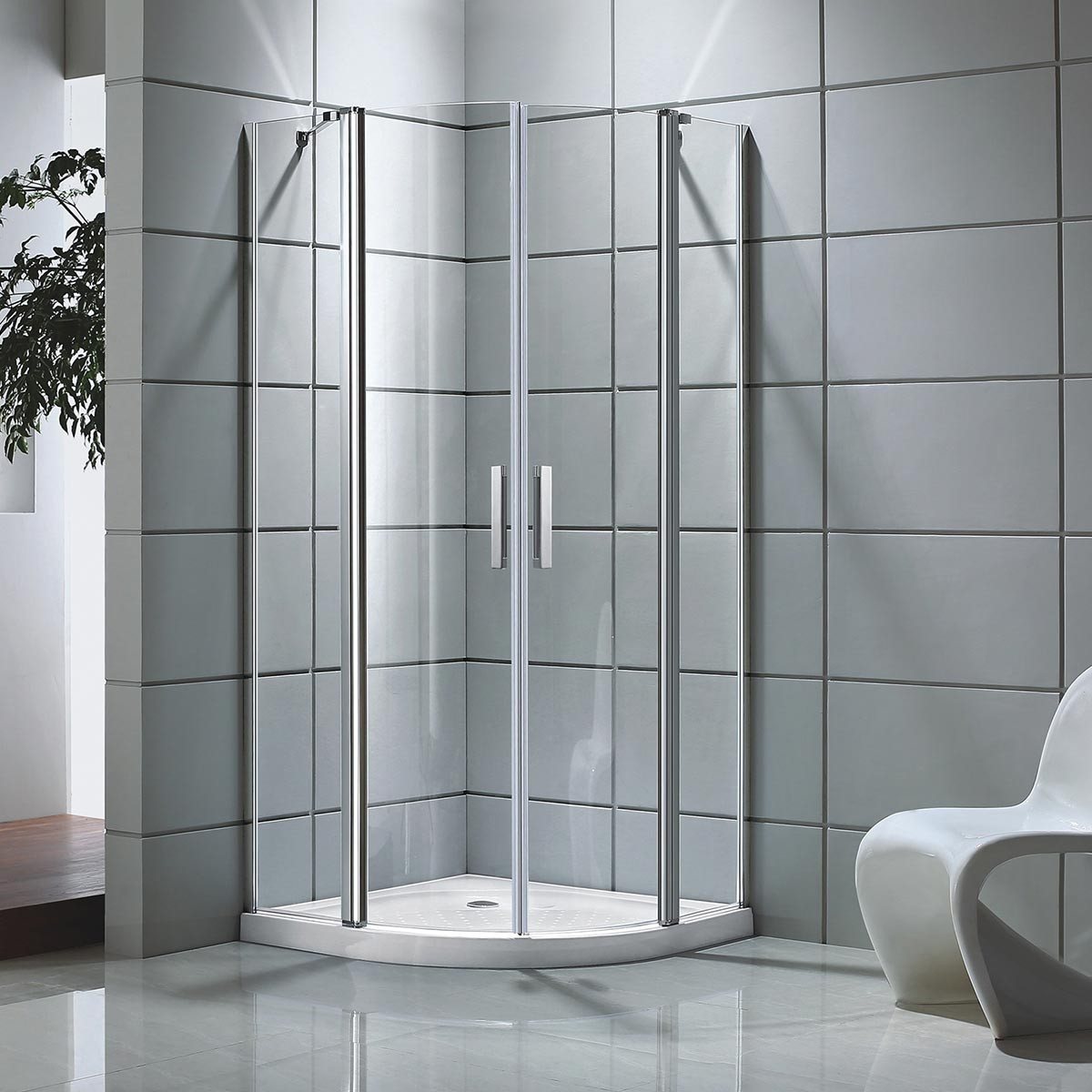 39 x 39 x 75 In. Shower Enclosure (DK-D501-100)