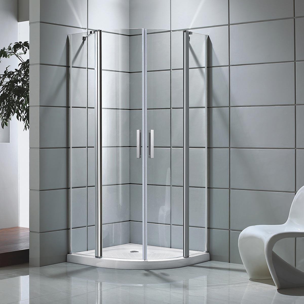 39 x 39 x 75 In. Shower Enclosure (DK-D501-100) | Decoraport Canada