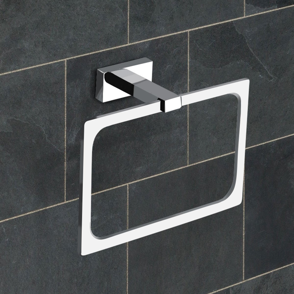 Towel Ring - Chrome Brass (31307)