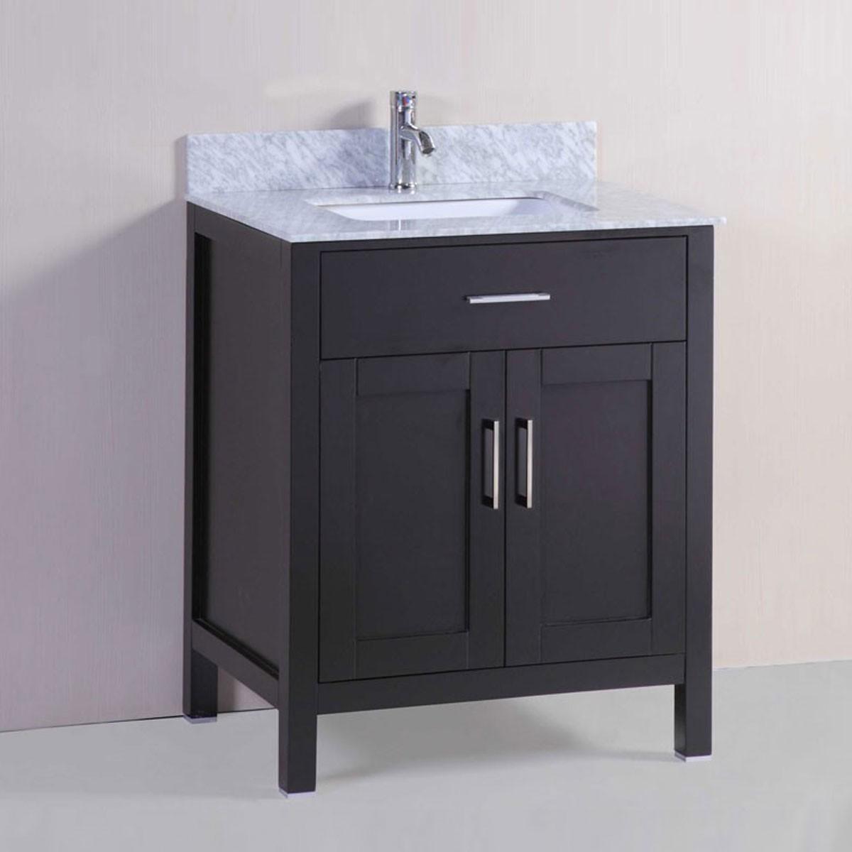 30 In. Freestanding Bathroom Vanity (DK-T9150-30E-V)