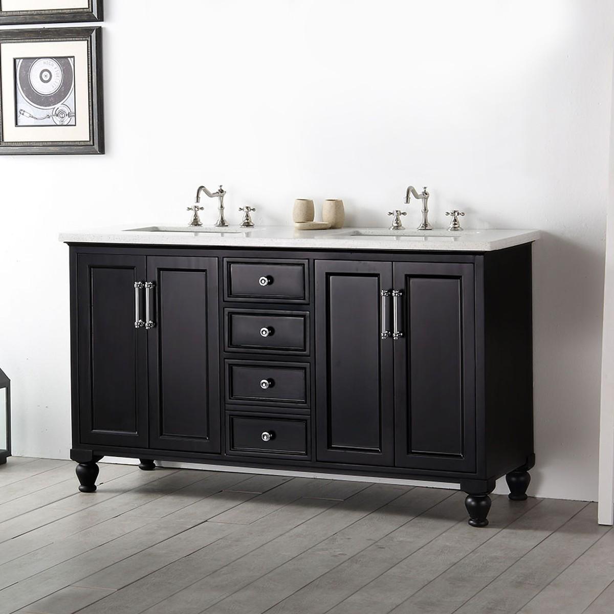 60 In. Bathroom Vanity (DK-6560-E)
