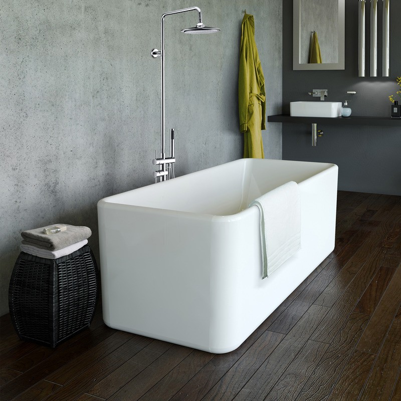 Freestanding Bathtub With Shower Head Bathtub Ideas