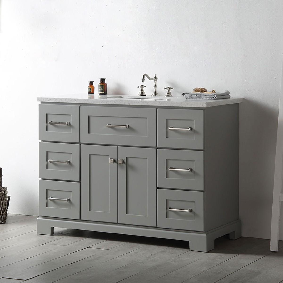 48 In. Bathroom Vanity (DK-6648-CG)