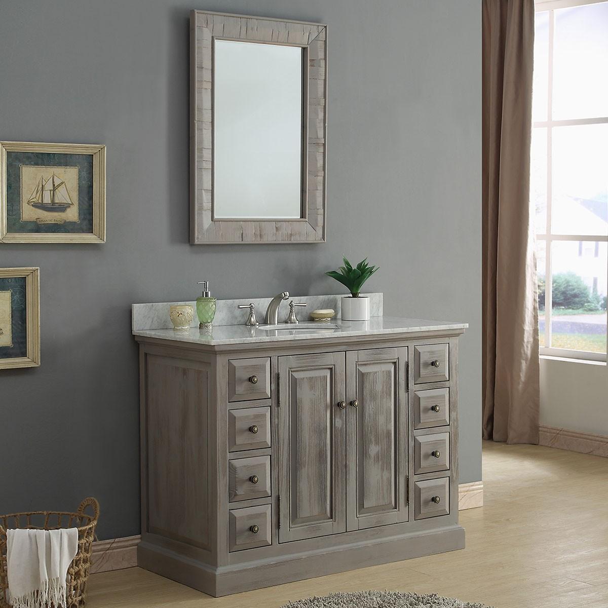 48 In. Freestanding Bathroom Vanity Set (DK-WK9448-SET)