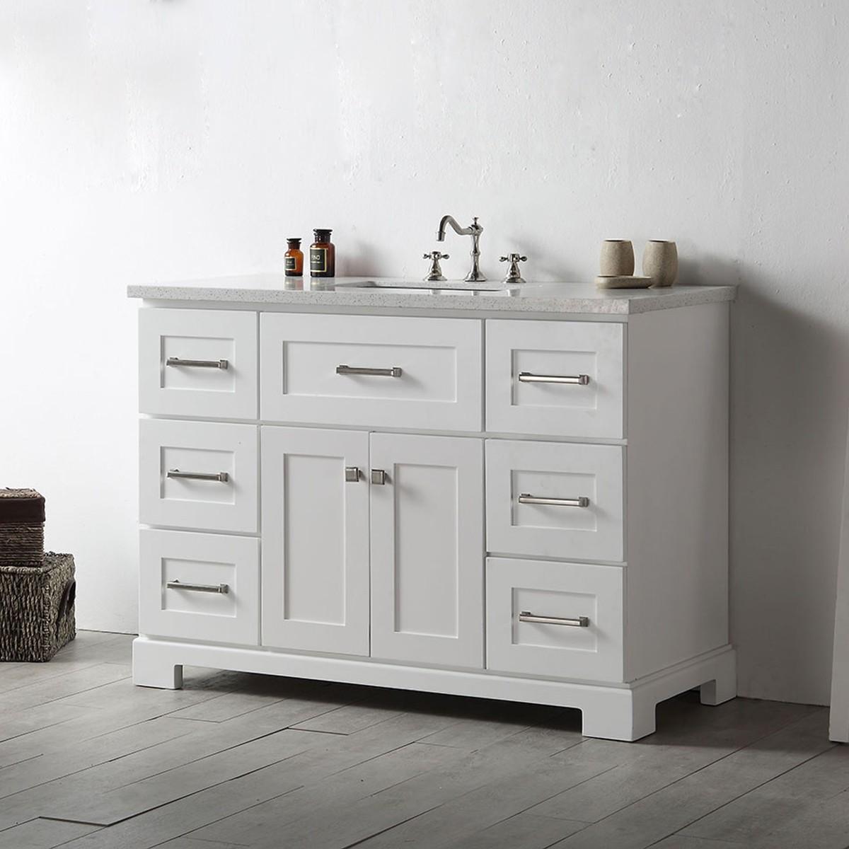 48 In. Bathroom Vanity (DK-6648-W)