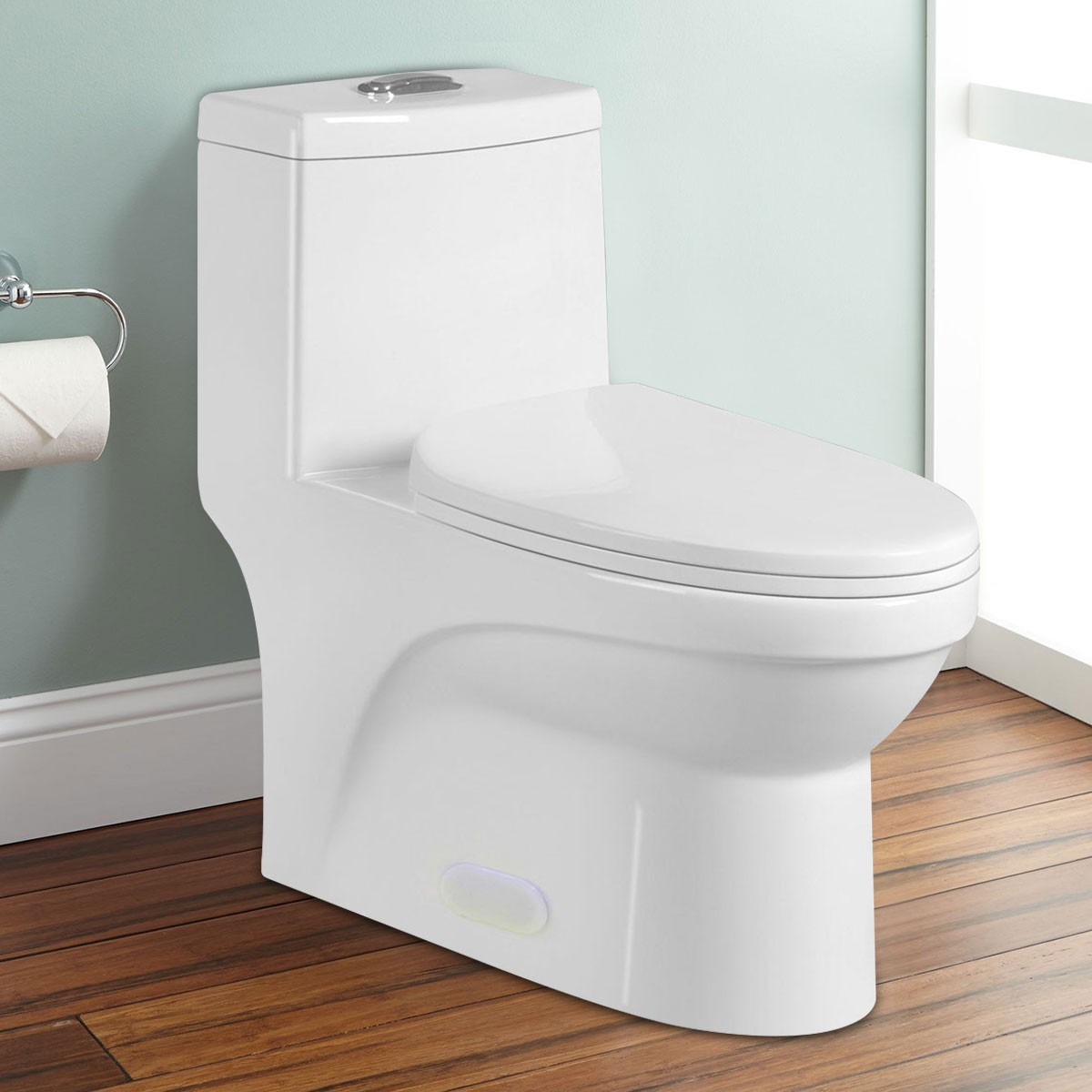 Dual Flush Water Saving Ceramic Elangated Toilet (DK-ZBQ-12050)