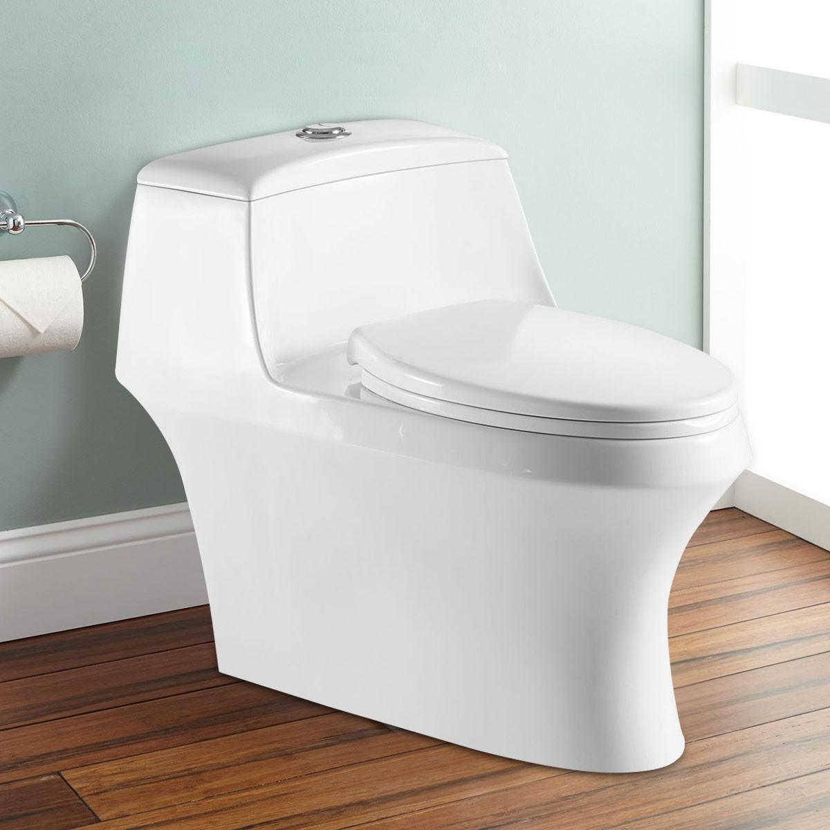 Dual Flush Siphonic One-piece Toilet (DK-ZBQ-12237)