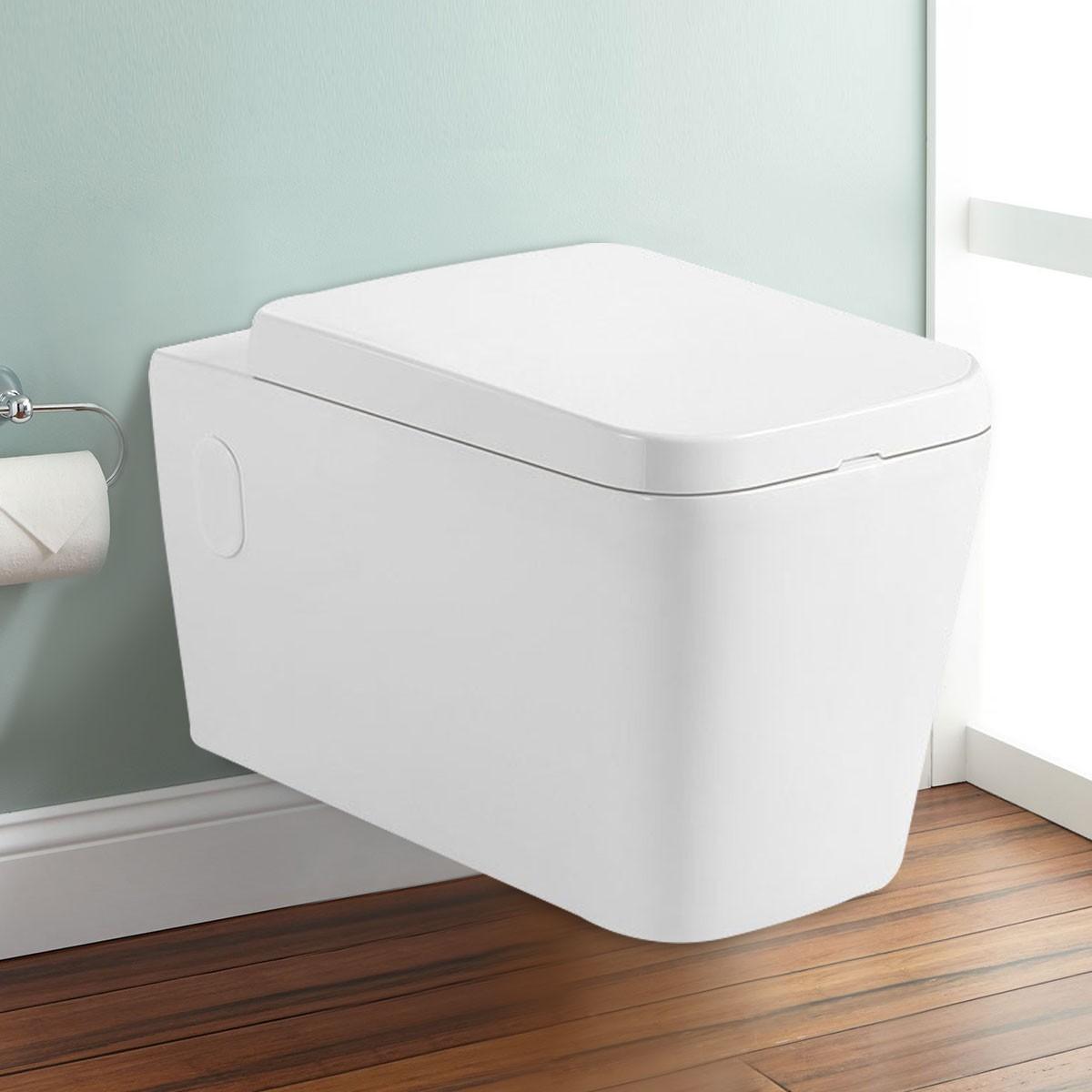 Wall Hung Toilet Bowl - White (DK-ZBQ-11002A)