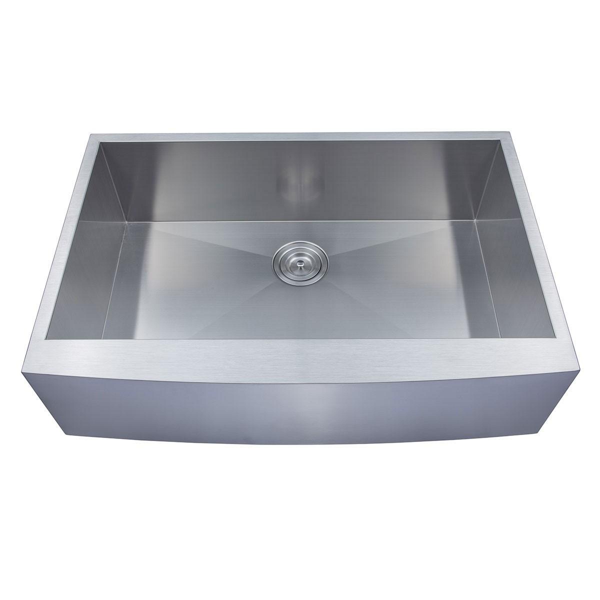 33 x 22 In. Stainless Steel Handmade Kitchen Sink (AF3322-R0)