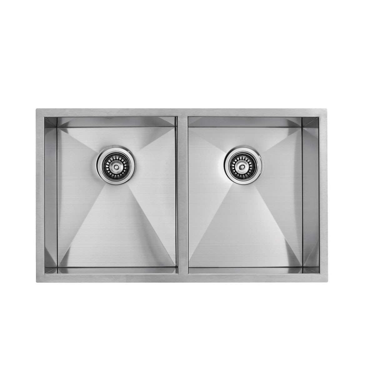 Stainless Steel Double Bowl Kitchen Sink (D3322-R0)