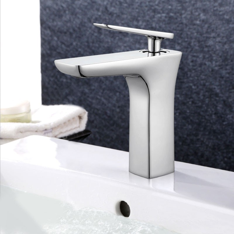 Basin&Sink Faucet - Brass with Chrome Finish (YDL-T13C)