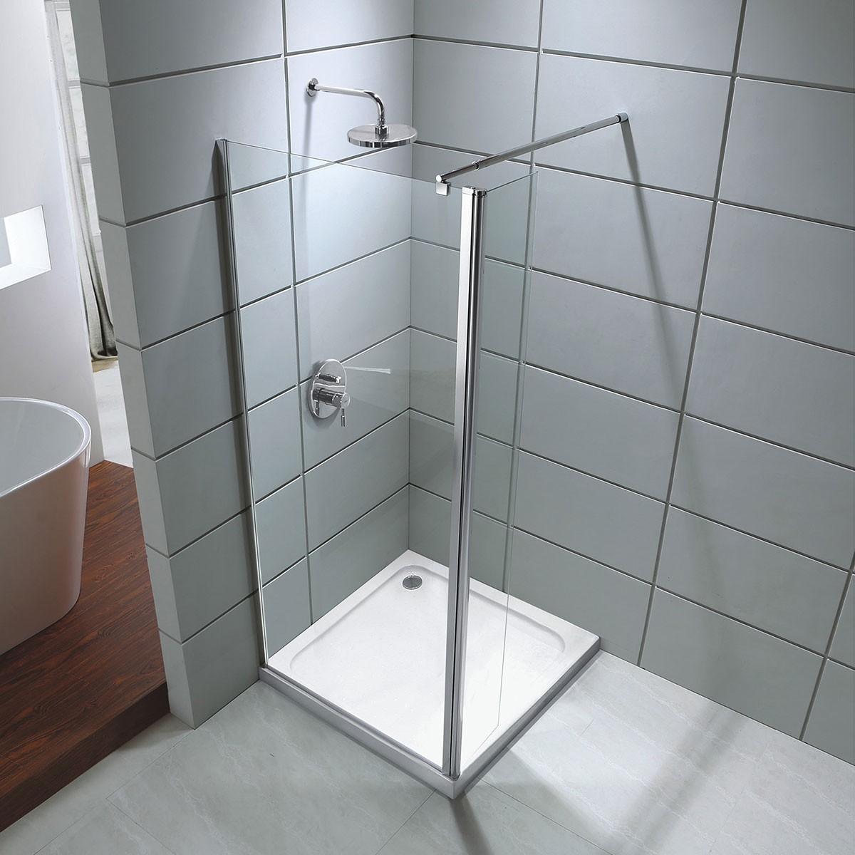 36 x 75 In. Walk-in Shower Door (DK-D202-90)