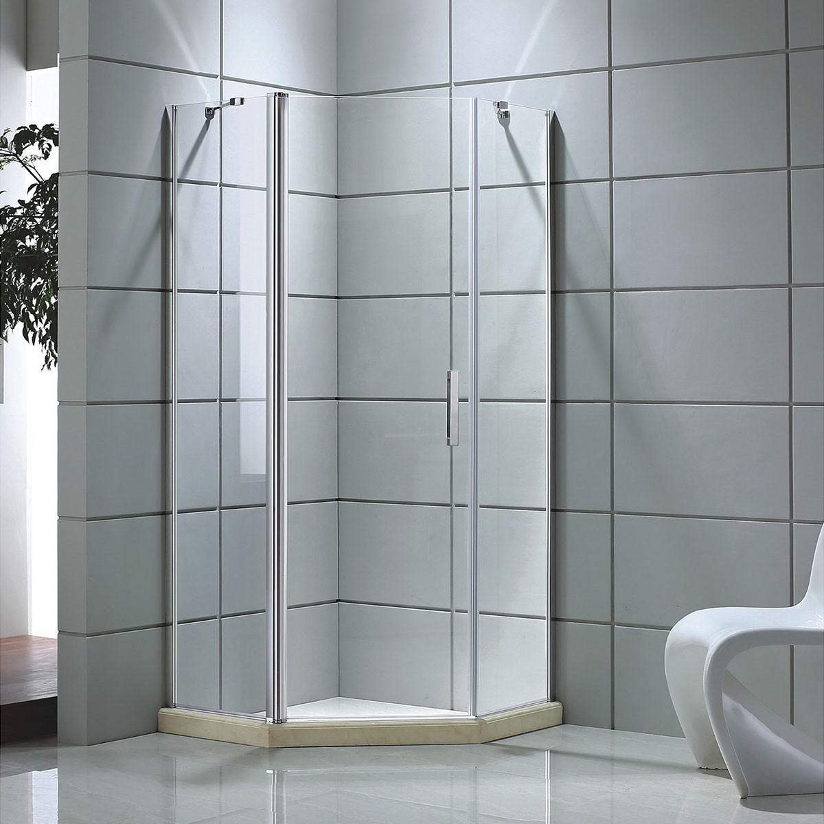35 x 35 In. Neo-angle Shower Door (DK-D504-90)