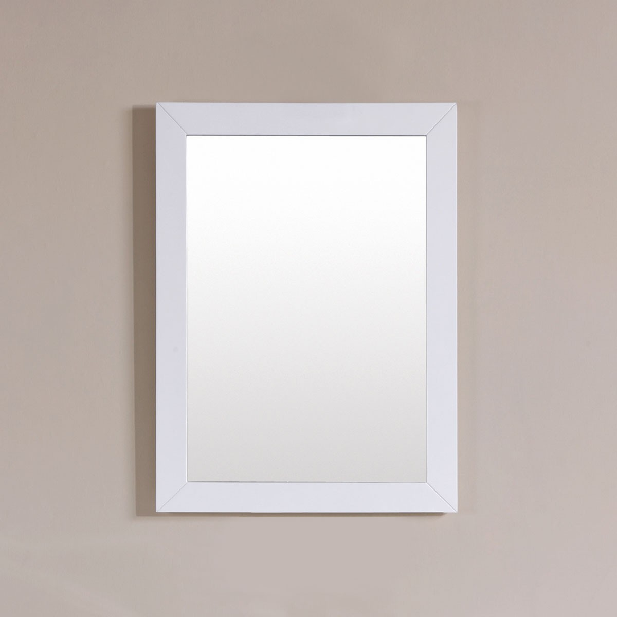 24 x 31 In. Mirror with White Frame (DK-T9312-24WM)