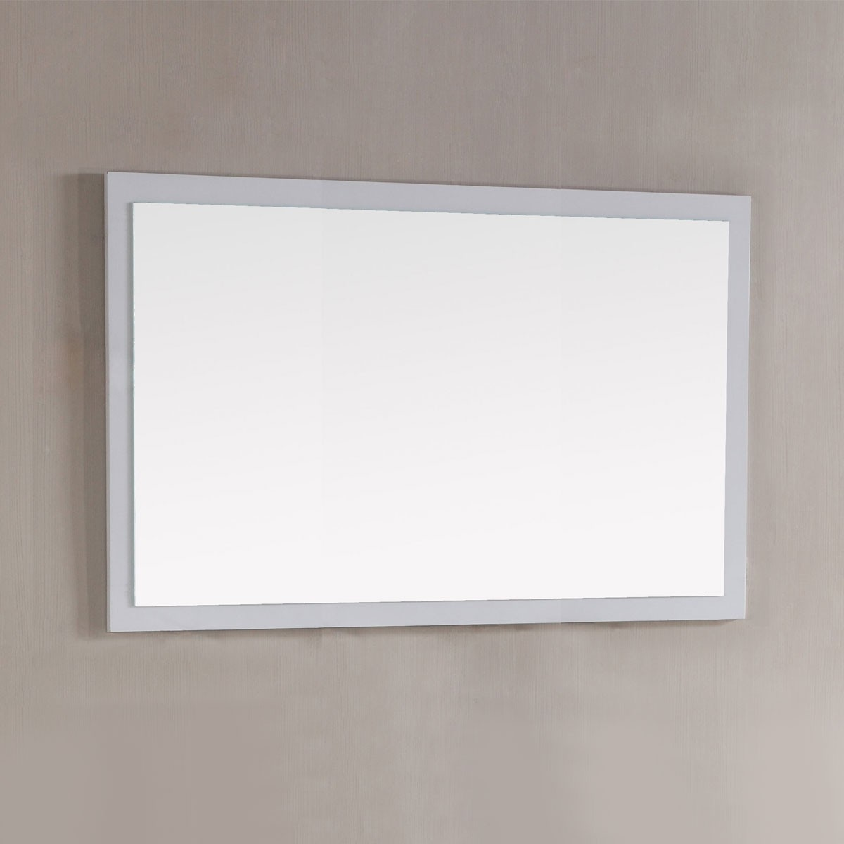 48 x 31 In. Mirror with White Frame (DK-T9312-48WM)