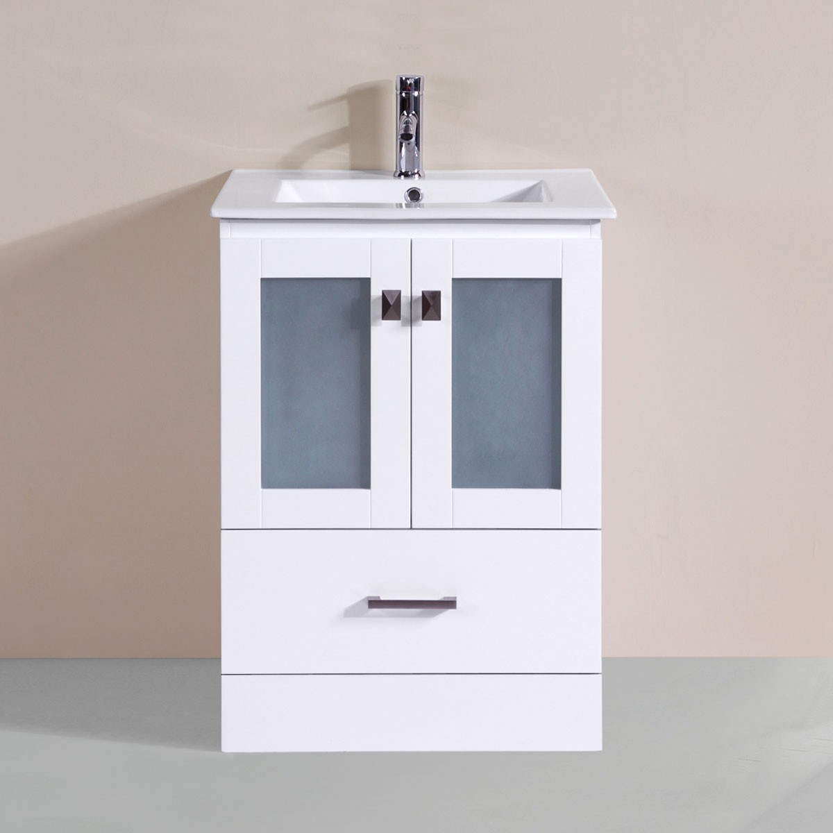 24 In. Plywood Vanity with Basin (DK-T9312-24WV)