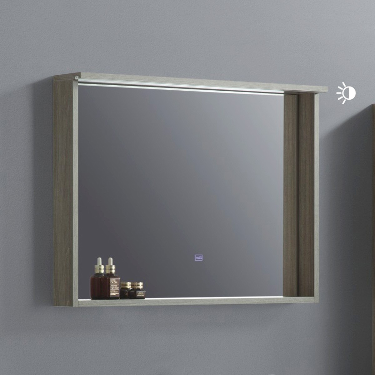 32 x 24 In. Bathroom Vanity LED Mirror with Shelf (VSW8002-M)