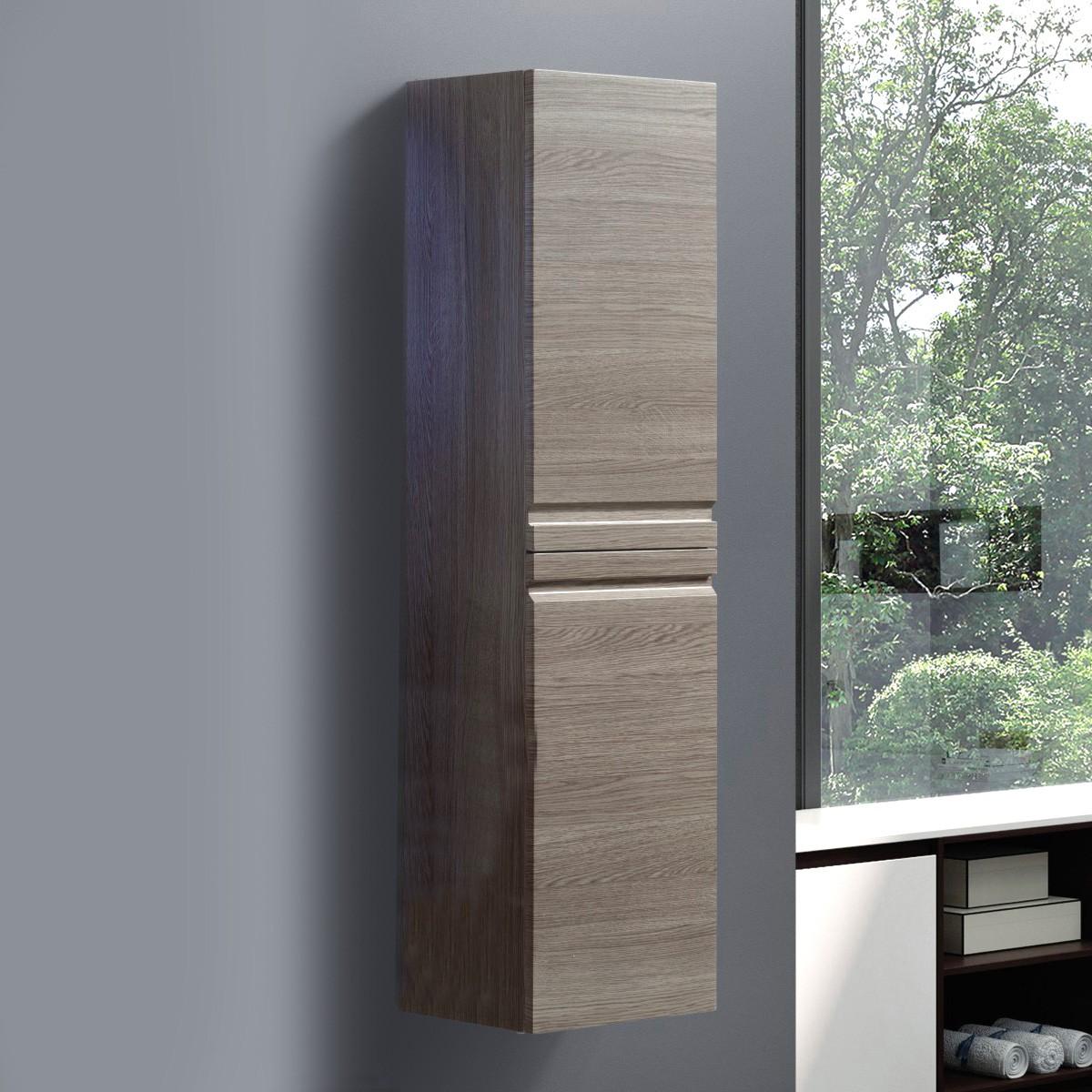 16 x 60 In. Wall Mount Linen Cabinet (ZRW8002-S)