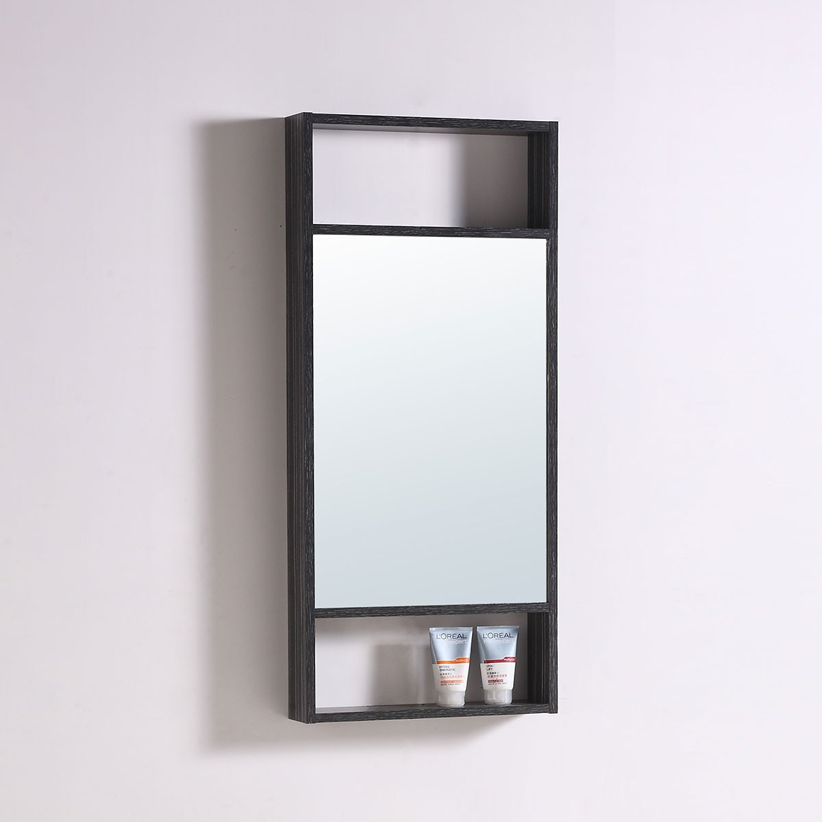 20 x 28 In. Mirror with Black Frame (DK-TH21302A-M)