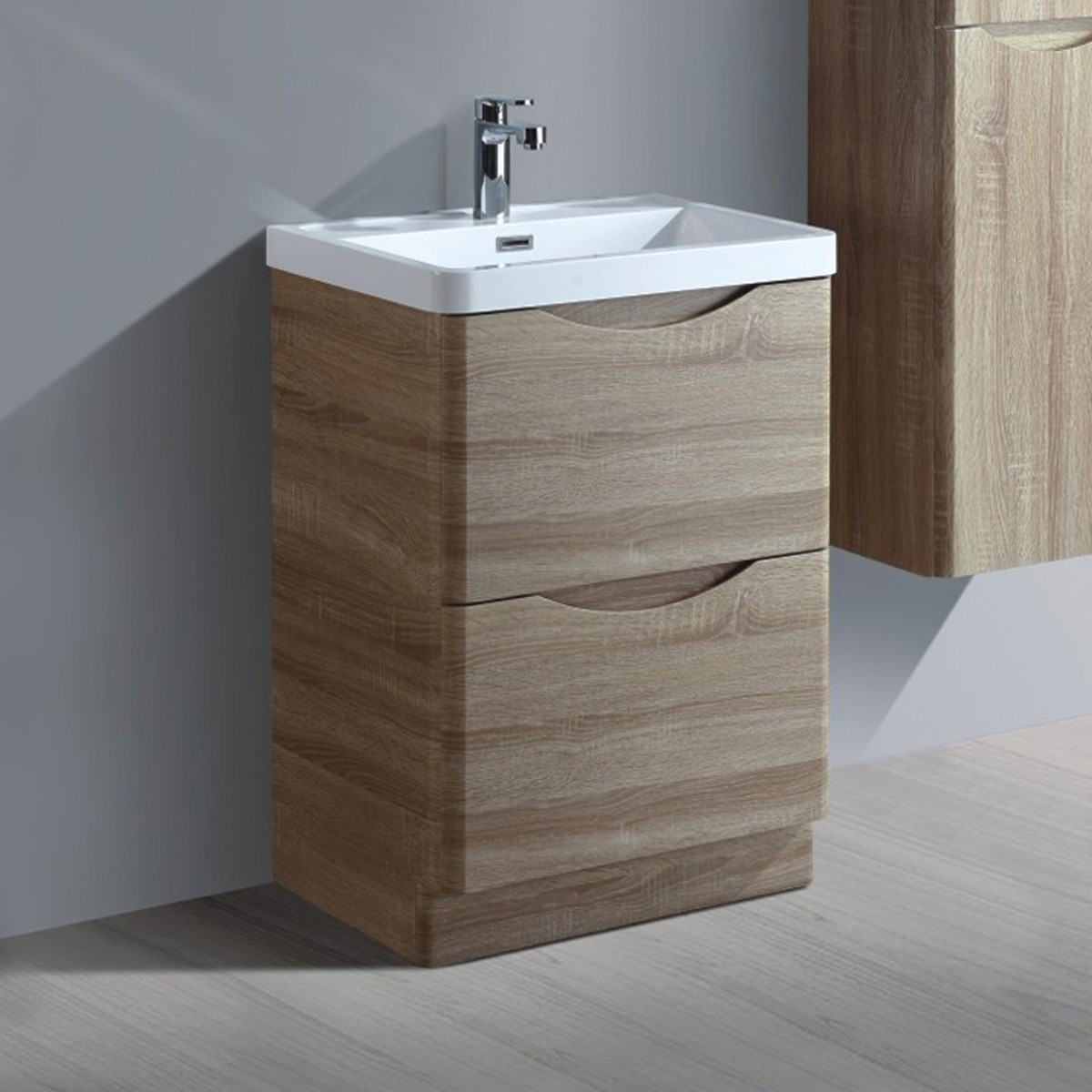24 In. Bathroom Vanity with Basin (MYF6002-V)