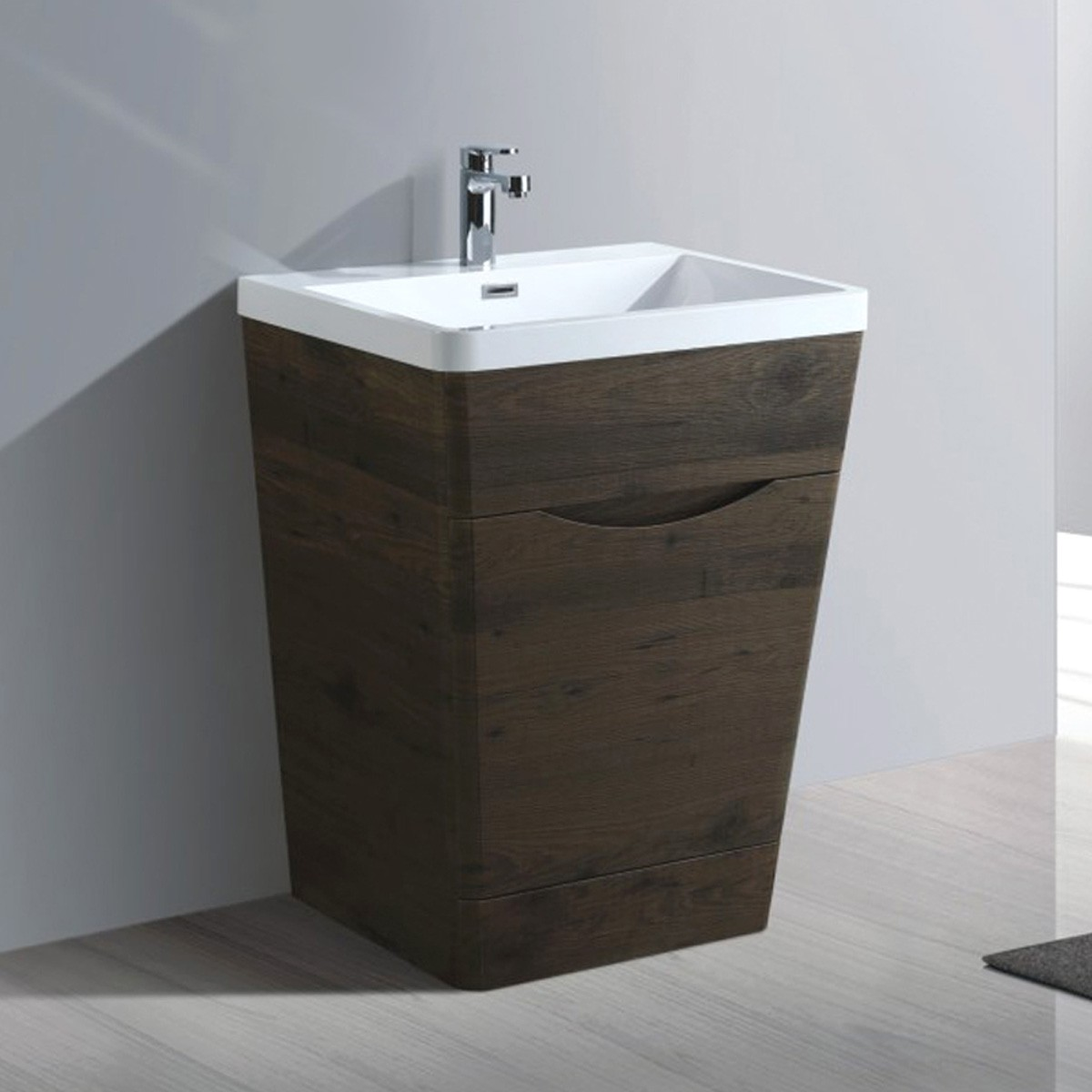 26 In. Bathroom Vanity with Basin (MY6501-V)