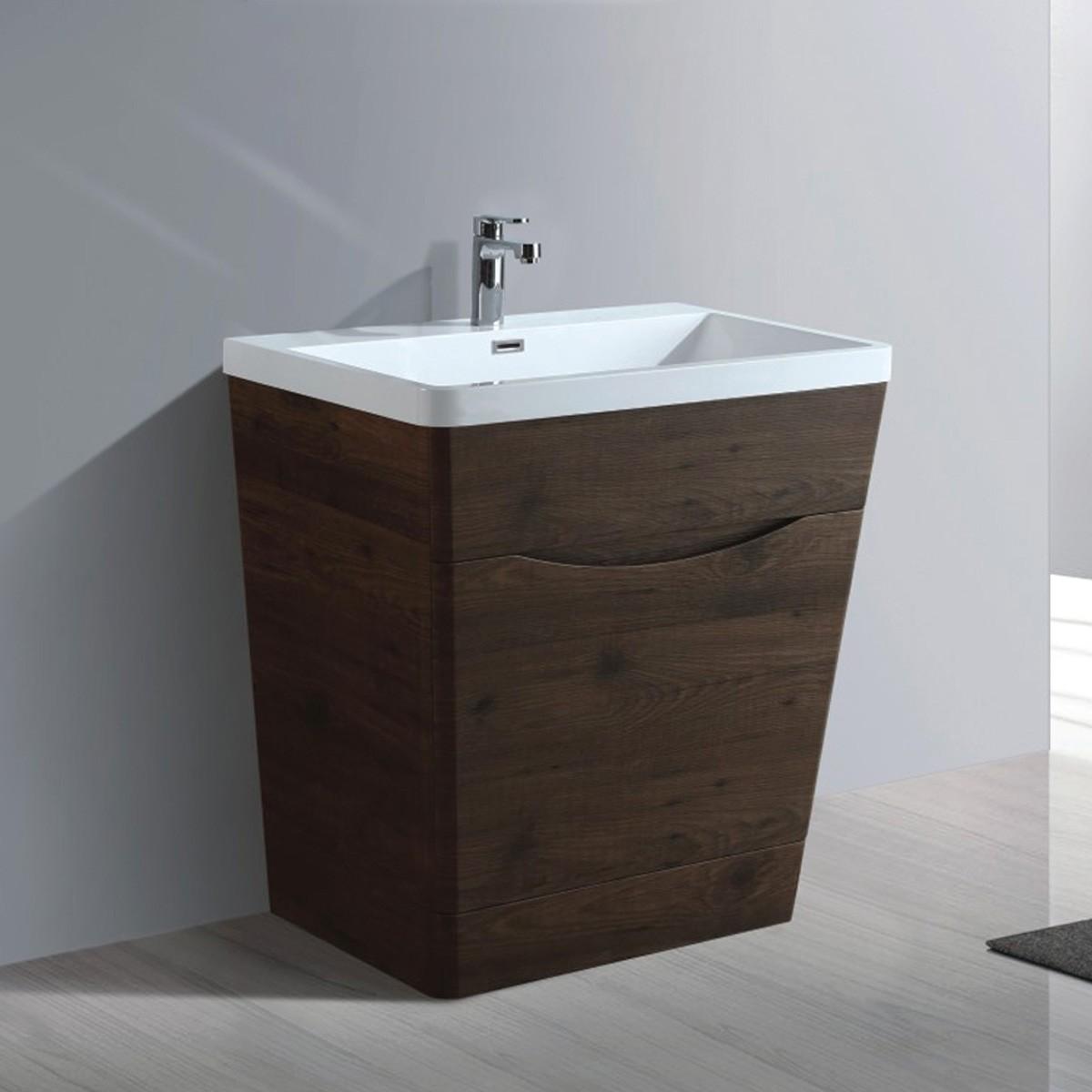 32 In. Bathroom Vanity with Basin (MY8001-V)