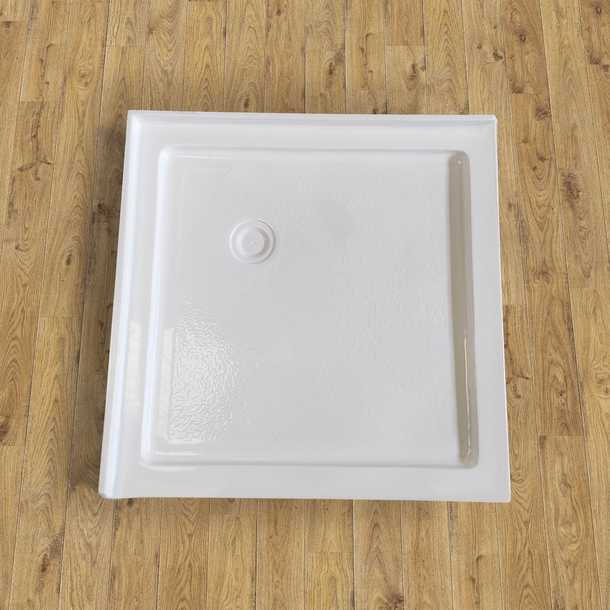 36 x 36 In Square Shower Base with Tiling Flanges (DK-T202)