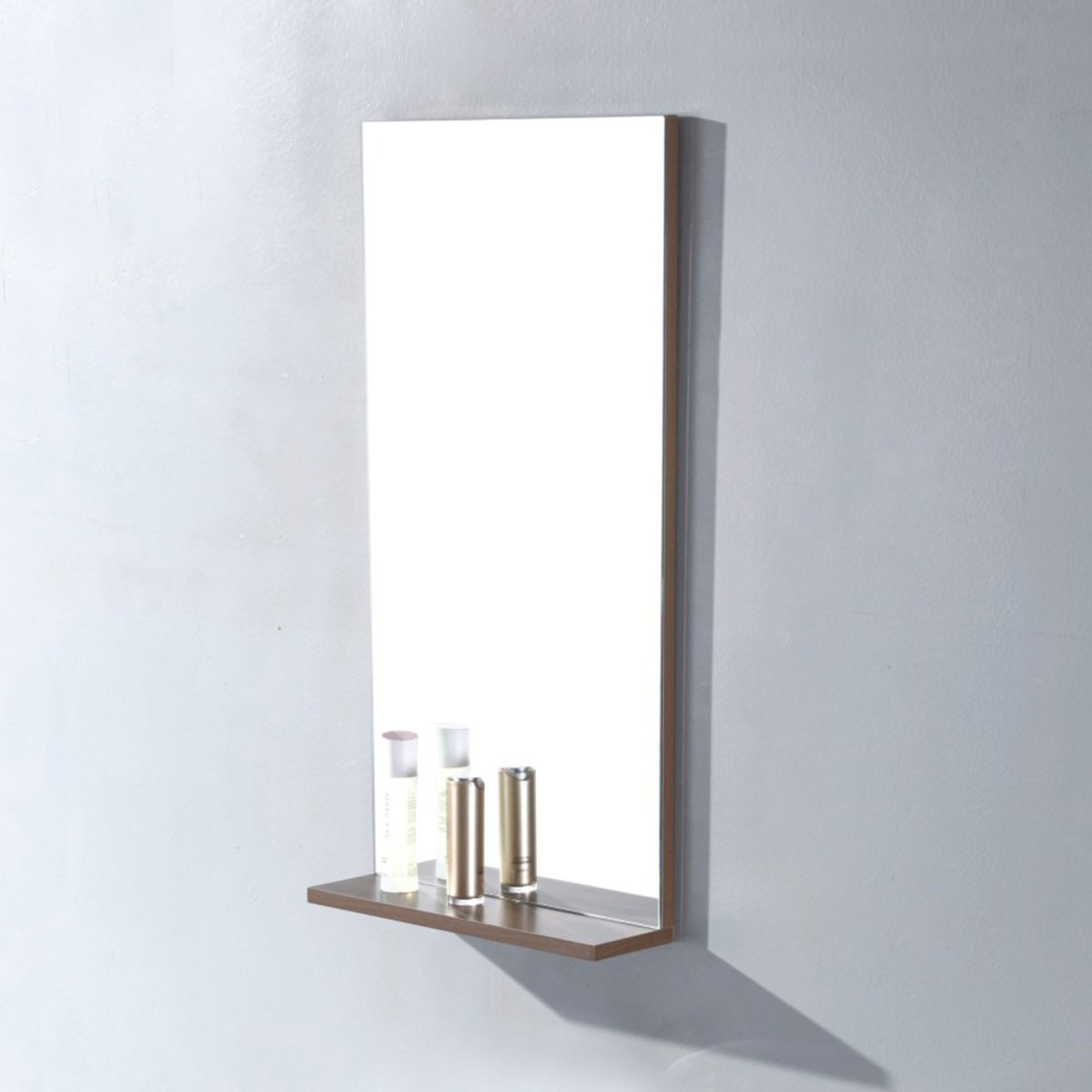 16 x 32 In. Bathroom Mirror with Shelf (MS400D-M)