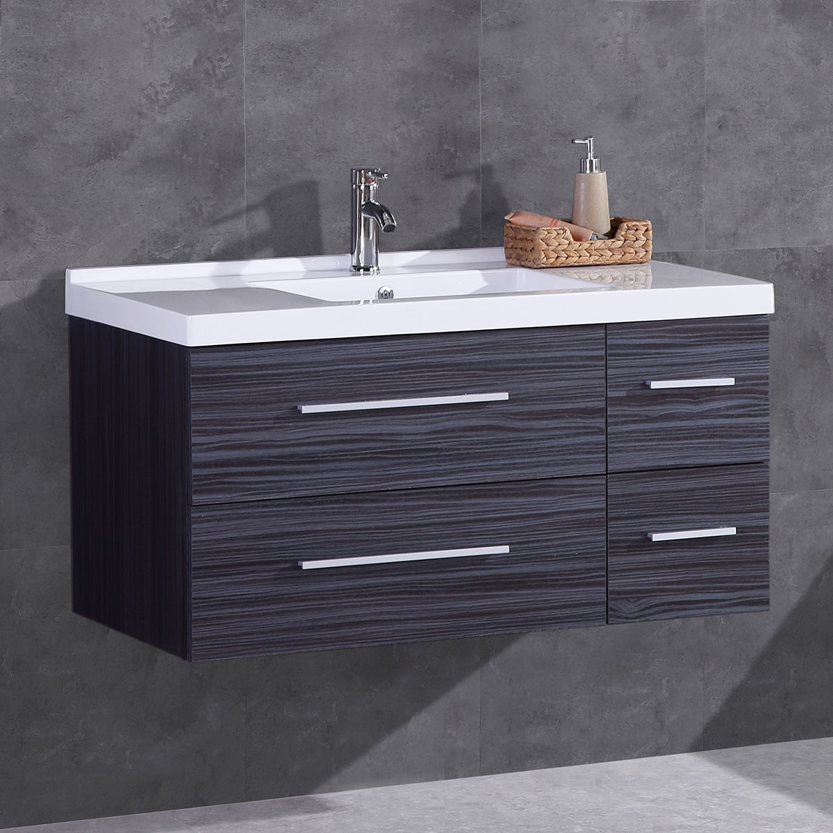 40 In. Plywood Vanity with Basin (DK-T5041-V)