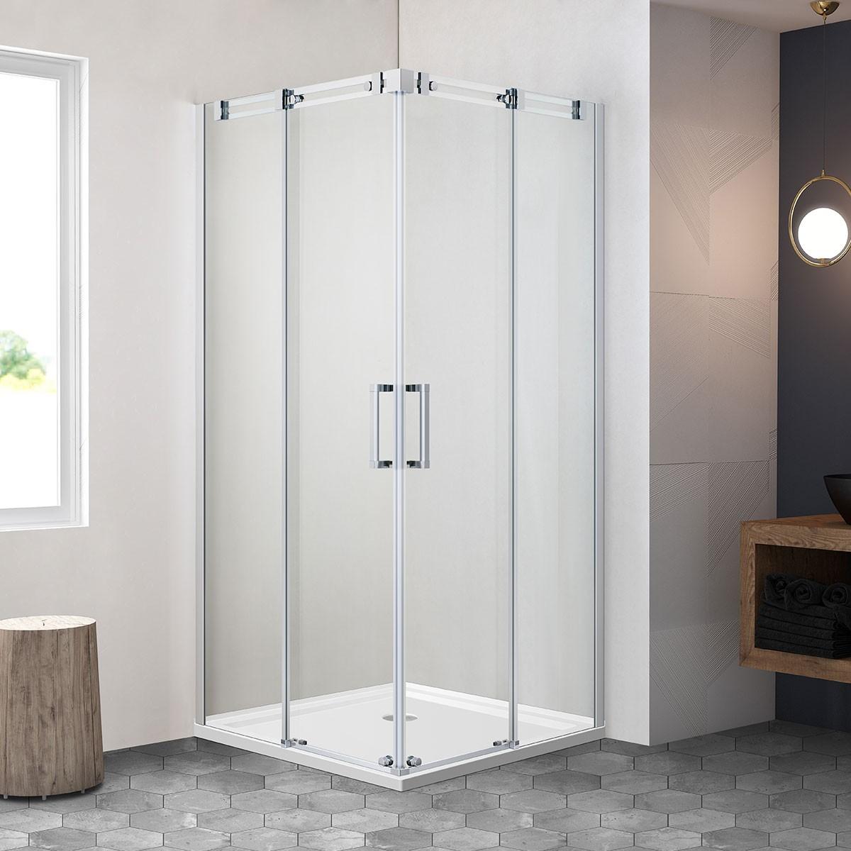 36 x 36 In. Sliding Shower Door (DK-BS2001-6)