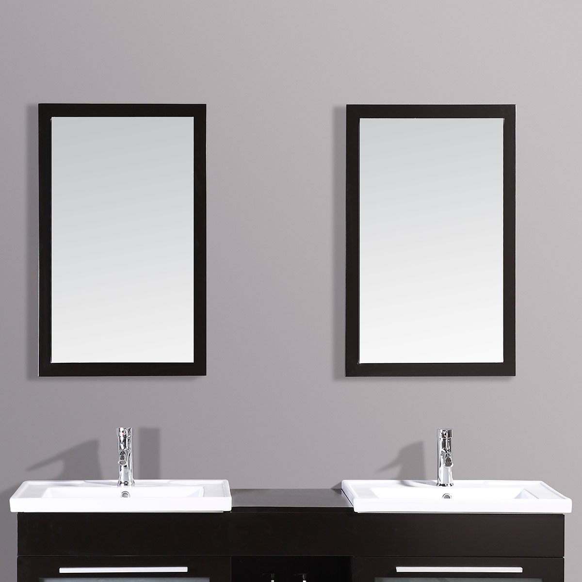 24 x 31 In. Mirror with Espresso Frame (DK-T9118-M)