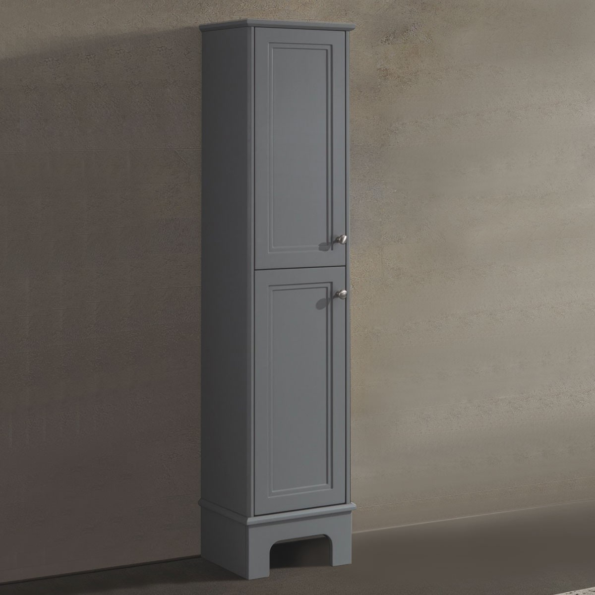 14 x 64 In. Freestanding Bathroom Linen Cabinet (BR8002-S)